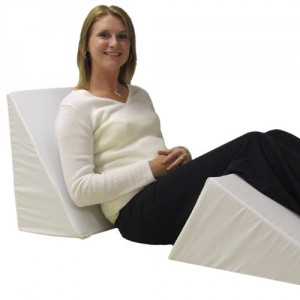Bed Wedge Pillow - Give you healthy, more comfortable night's sleep.