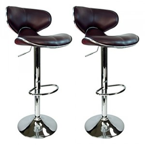 Best Leather Swivel Stool - Great addition to any kitchen island