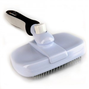Groomeasy Slicker Brush for Dogs and Cats
