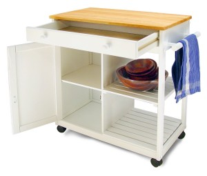 Kitchen Cart - Limited kitchen space is not an issue now