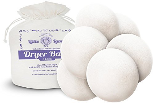 Little Lamb Wool Dryer Balls 6 Pack