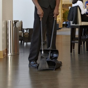 Upright Dust Pan - Cut down you cleaning time while saving your back