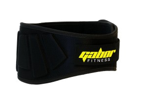 Contoured Neoprene Weight Lifting Belt 6 Back Support