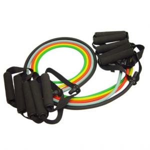 KAZE SPORTS Premium Latex Resistance Exercise Bands