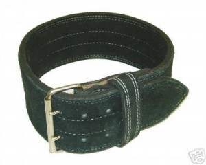 Leather Power Weight Lifting Belt
