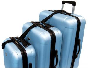 3-Piece Luggage Set - Enjoy easier, more comfortable travel