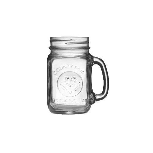 Libbey County Fair 16.5-Ounce Drinking Jar