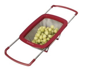 Over the Sink Strainer - Perfect cooking and food preparation tool