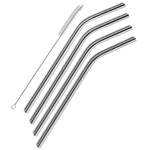 SipWell Stainless Steel Straws Set