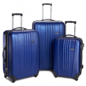 Traveler's Choice Luggage Toronto Three Piece Hardside Spinner Luggage