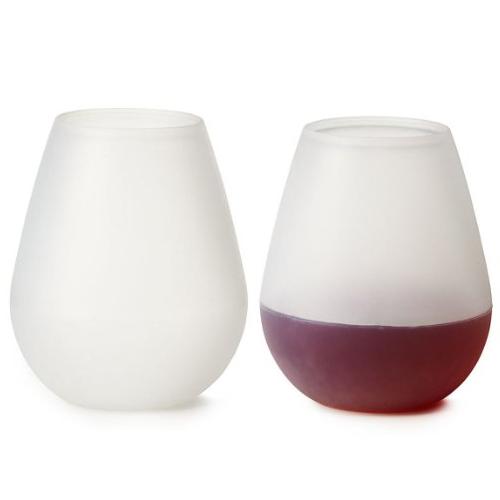 WineMeUp Silicone Wine Glasses