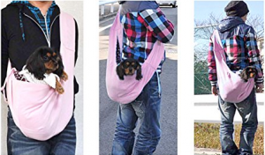 Dog Sling Carrier - Carrying your little companion is a breeze now