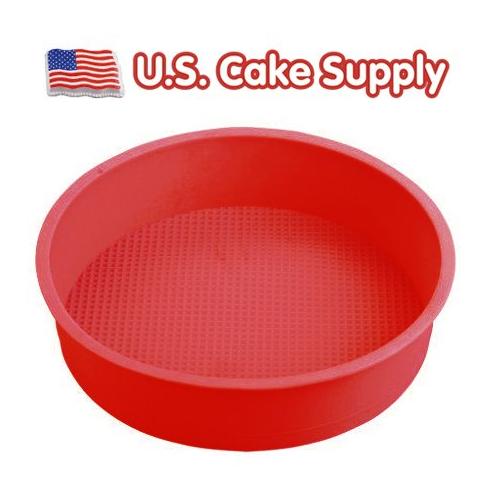 Round Silicone Cake Mold Pan