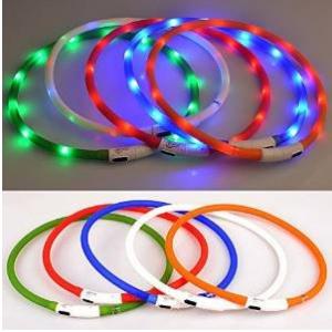 Walgap® LED Dog Collar Rechargeable
