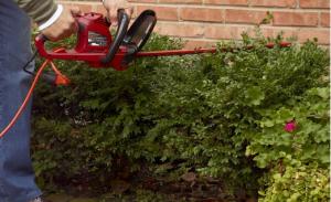 Electric Hedge Trimmer - Make short work of hedges and shrubs