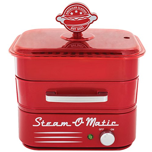 Smart Planet HDS1 Steam-O-Matic Hot Dog Steamer