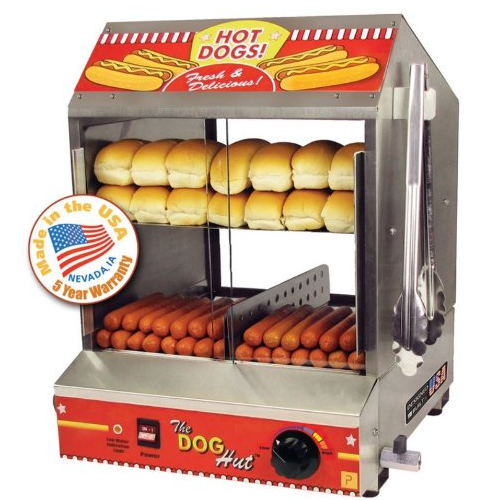 The Dog Hut Hotdog Steamer
