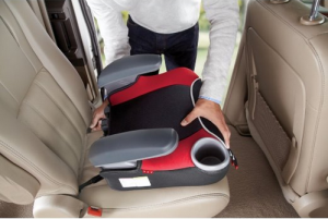 High Back Booster Car Seat - Ensure comfort and safety for your car trips