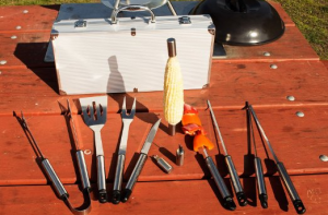 BBQ Set with Case - Give you all the essentials for easy grilling