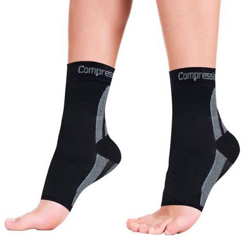 Foot Sleeves (1 Pair) Best Plantar Fasciitis Compression