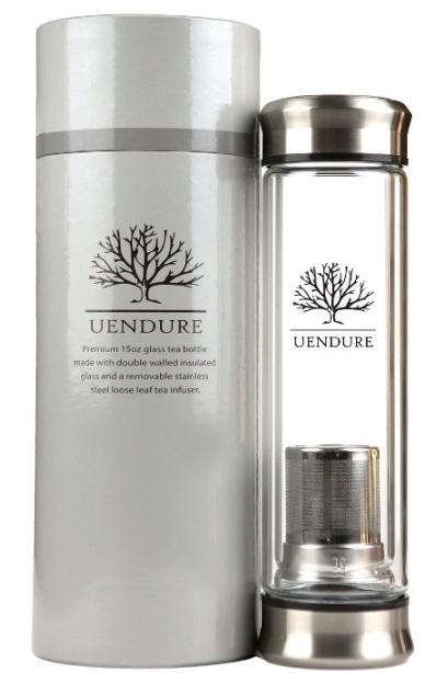 UEndure Tea Infuser - Tea Tumbler Tea Cup with Loose Leaf Tea Strainer