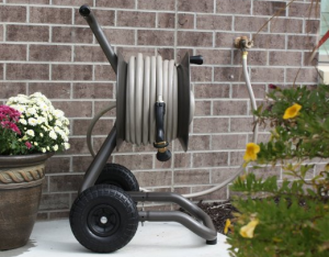 Garden Hose Reel Cart - Make your watering tasks a breeze