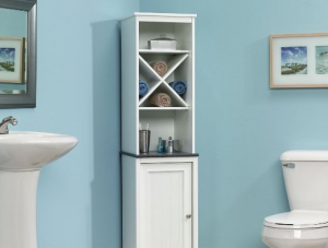 Over The Toilet Storage - A great addition to small bathroom