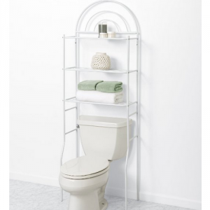 5 Best Over The Toilet Storage – A great addition to small bathroom