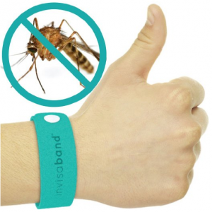 invisaband 5 Pack All Natural Mosquito Repellent Bracelets