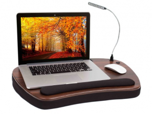 Laptop Lap Desk - Work, play in comfort anywhere