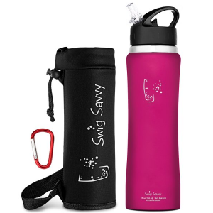 5 Best Insulated Water Bottle With Flip Straw – Stay hydrated and drink more