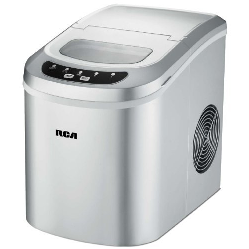 rca-ric102-silver-compact-ice-maker