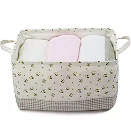 cotton-collapsible-household-organizer-basket