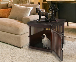 Pet Crate End Table - A combination of style and function