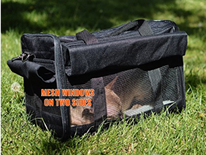 Airline Approved Soft Sided Pet Carrier - Carry your pet with confidence