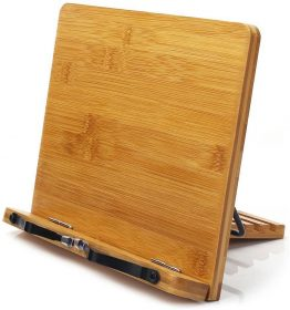 8 Best Wood Book Stand – Reading hand free without neck pain